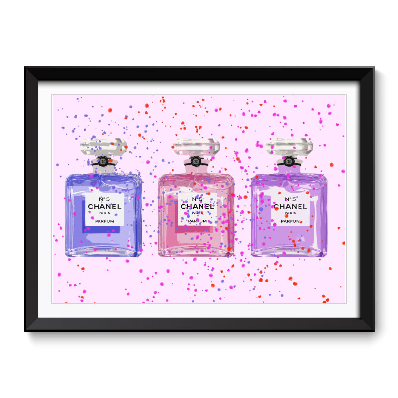 Chanel Three Framed Art Print