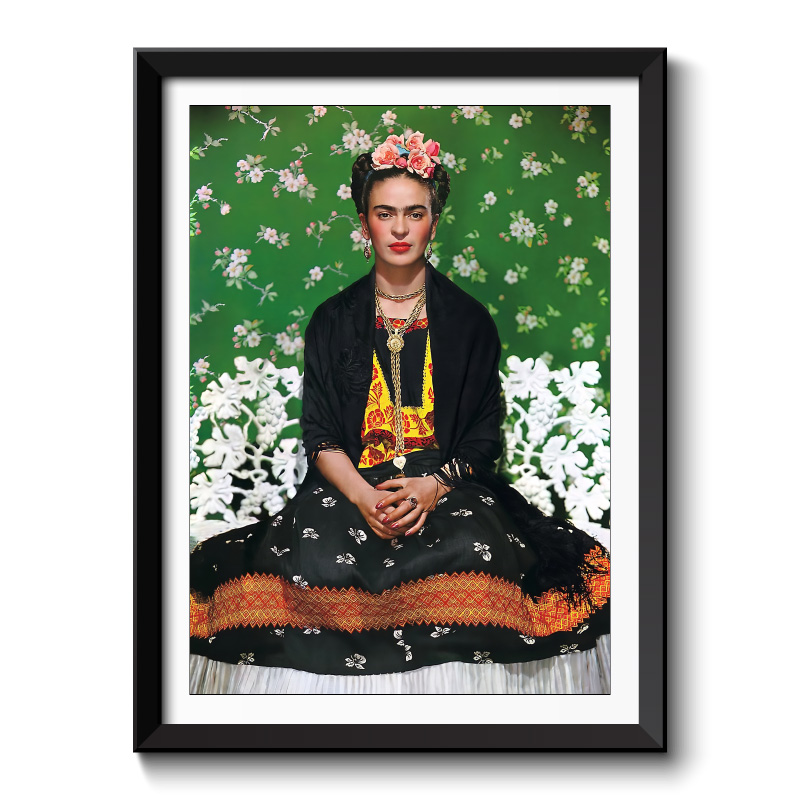 Frida Kahlo Framed Wall Art Print