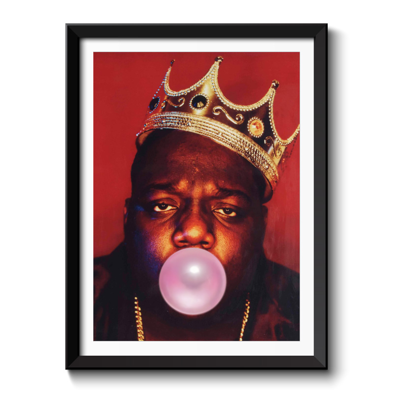 The Notorious BIG Bubble Gum Framed Wall Art Print