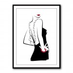 Back Off by Martina Pavlov Framed Art Print
