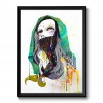 The Prayer Behind The Vail By Minjae Lee Framed Art Print