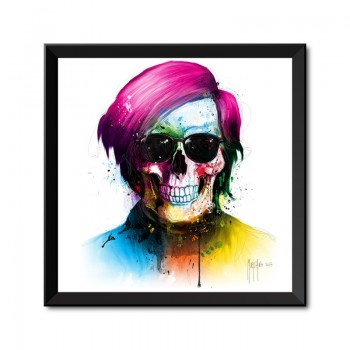 Andy Warhol Framed Art Print by Patrice Murciano