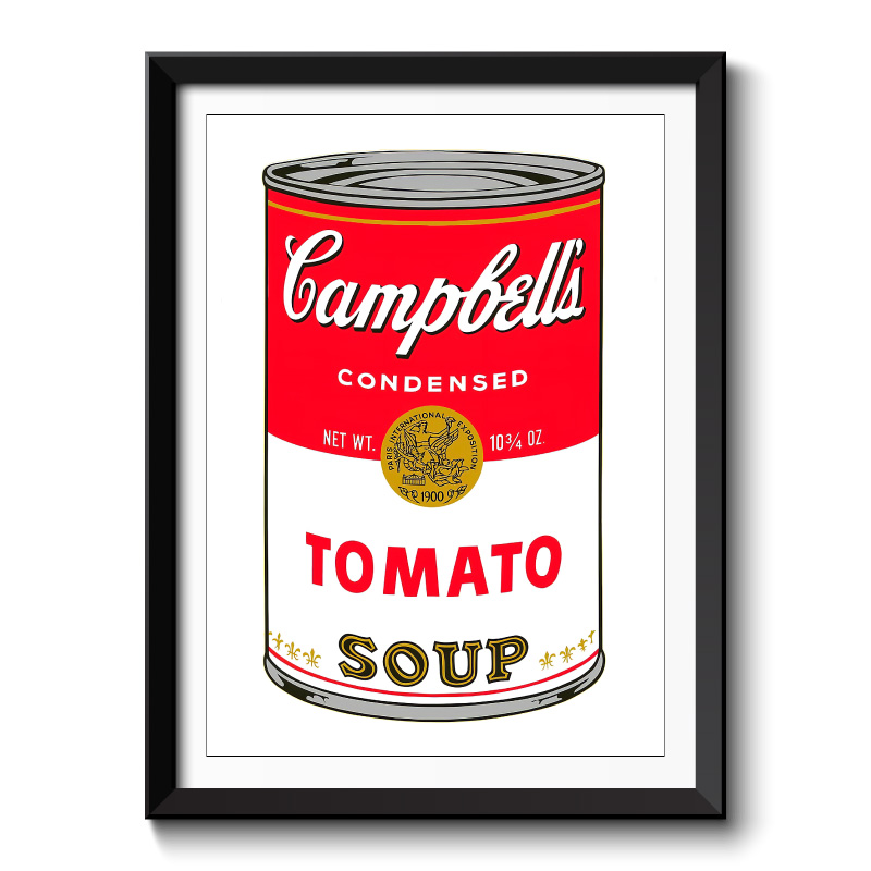 Campbells Soup Framed Wall Art Print