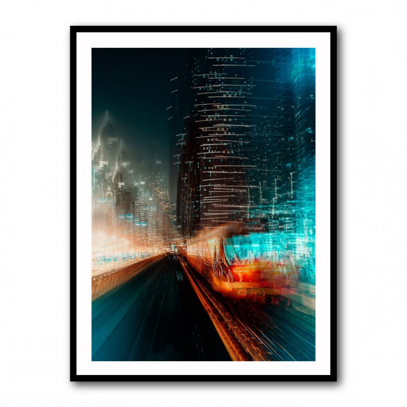 Look into the future Framed Art Print