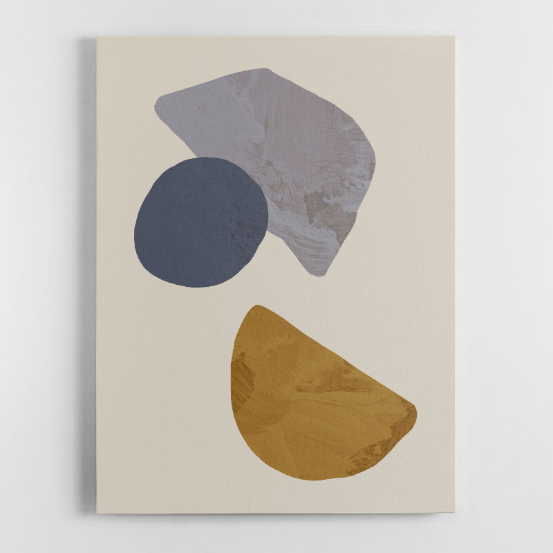 Collage 03 Canvas Wall Art Print