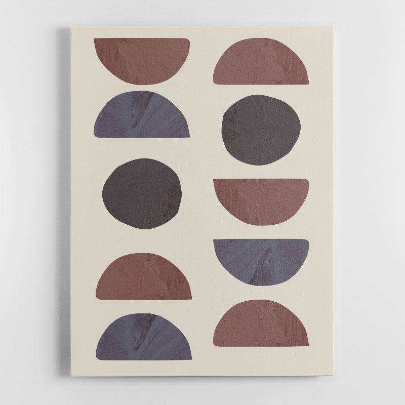 Collage 04 Canvas Wall Art Print