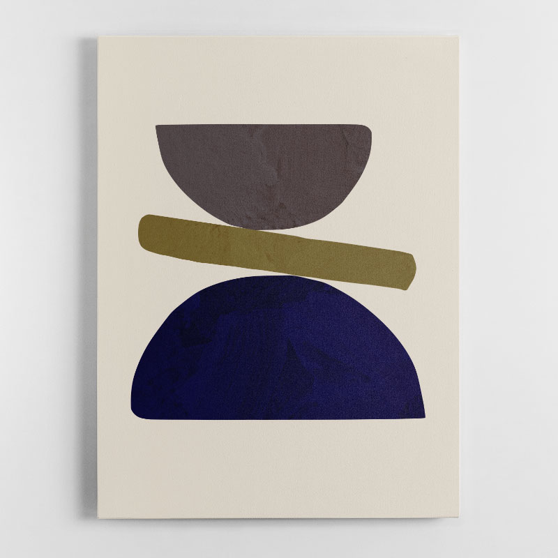 Collage 05 Canvas Wall Art Print