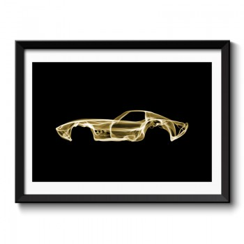 Corvette C3 Framed Print
