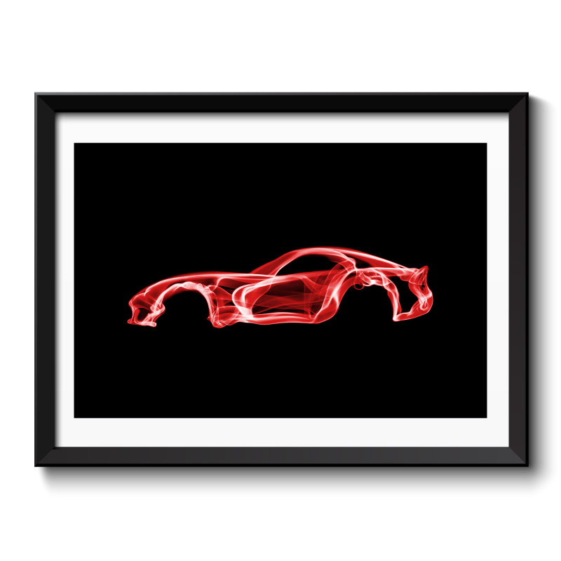 Dodge Viper Framed Print