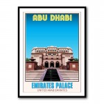 Emirates Palace Abu Dhabi Framed Art Print
