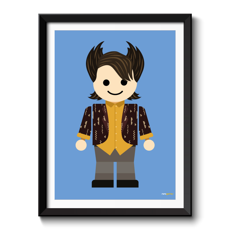 Chandler Toy Framed Print
