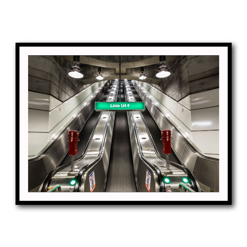 U4 By Baz Diprose Framed Art Print