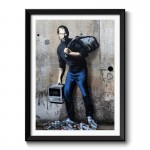 Banksy The Son of a Migrant from Syria Framed Print