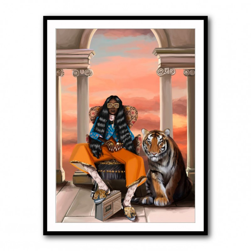 Gucci Pleasure Framed Art Print